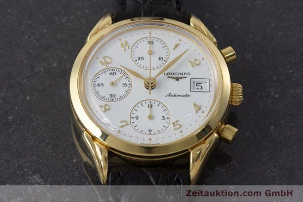 Used luxury watch Longines * chronograph gold-plated automatic Kal. L674.2 ETA 7750 Ref. L4.642.2  | 160931 13