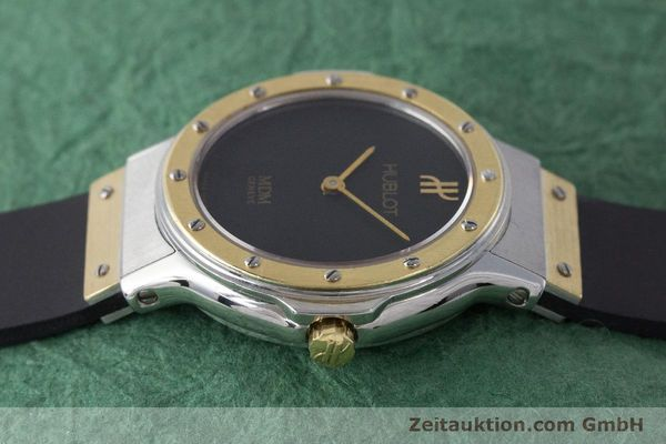 Used luxury watch Hublot MDM steel / gold quartz Kal. ETA 976.001 Ref. 1280.100.2  | 160932 05