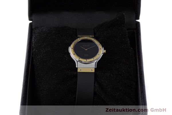 Used luxury watch Hublot MDM steel / gold quartz Kal. ETA 976.001 Ref. 1280.100.2  | 160932 07