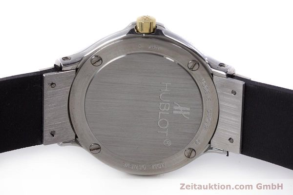 Used luxury watch Hublot MDM steel / gold quartz Kal. ETA 976.001 Ref. 1280.100.2  | 160932 08