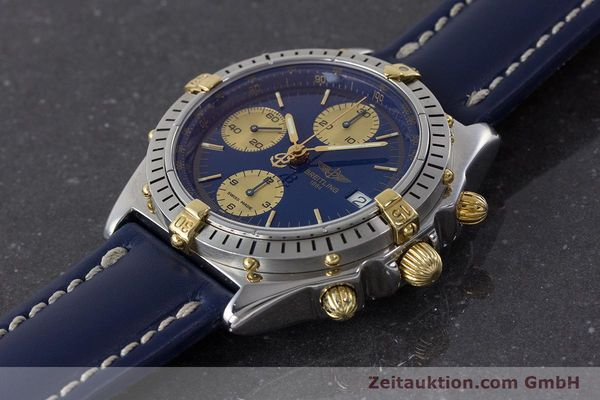 Used luxury watch Breitling Chronomat chronograph steel / gold automatic Kal. B13 ETA 7750 Ref. B13048  | 160934 01