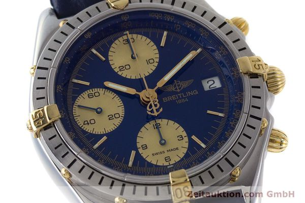 Used luxury watch Breitling Chronomat chronograph steel / gold automatic Kal. B13 ETA 7750 Ref. B13048  | 160934 02