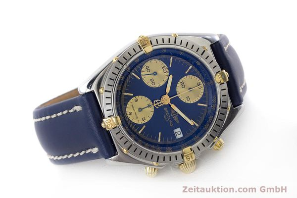 Used luxury watch Breitling Chronomat chronograph steel / gold automatic Kal. B13 ETA 7750 Ref. B13048  | 160934 03