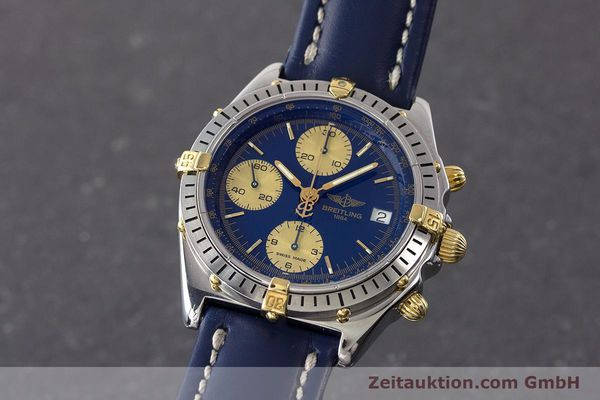 Used luxury watch Breitling Chronomat chronograph steel / gold automatic Kal. B13 ETA 7750 Ref. B13048  | 160934 04