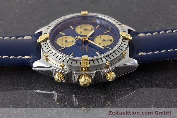 Used luxury watch Breitling Chronomat chronograph steel / gold automatic Kal. B13 ETA 7750 Ref. B13048  | 160934 05