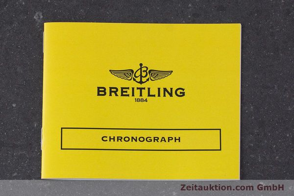 Used luxury watch Breitling Chronomat chronograph steel / gold automatic Kal. B13 ETA 7750 Ref. B13048  | 160934 11