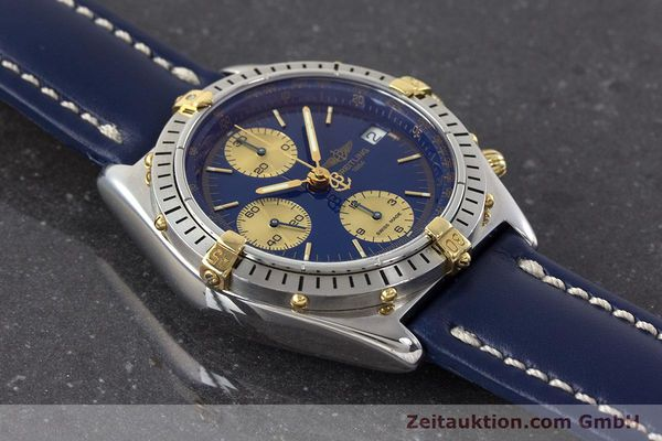 Used luxury watch Breitling Chronomat chronograph steel / gold automatic Kal. B13 ETA 7750 Ref. B13048  | 160934 14