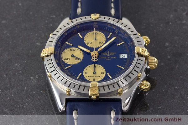 Used luxury watch Breitling Chronomat chronograph steel / gold automatic Kal. B13 ETA 7750 Ref. B13048  | 160934 15