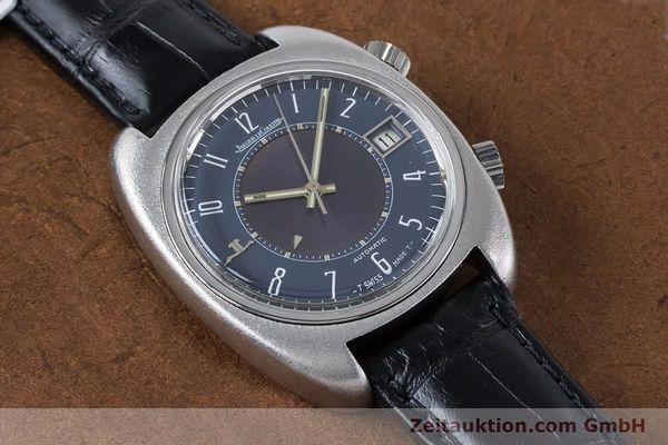 Used luxury watch Jaeger Le Coultre Memovox steel automatic Kal. 916  | 160935 13