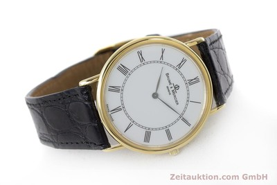 BAUME & MERCIER 18 CT GOLD QUARTZ KAL. 9098 [160938]