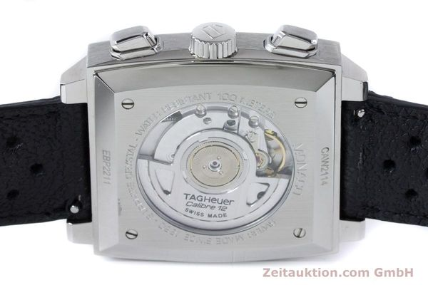 Used luxury watch Tag Heuer Monaco chronograph steel automatic Kal. 12 Ref. CAW2114  | 160939 10