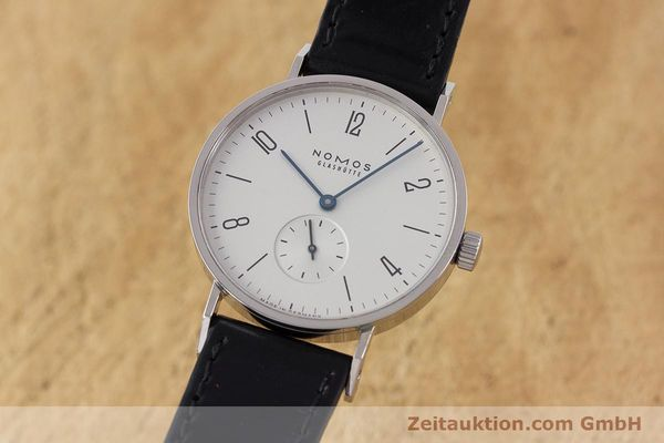 NOMOS TANGENTE STEEL MANUAL WINDING KAL. ALPHA LP: 1380EUR [160941]