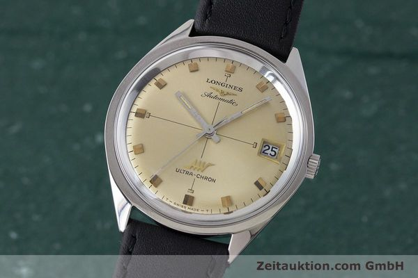 LONGINES ULTRA CHRON ACIER AUTOMATIQUE KAL. 431 VINTAGE [160945]