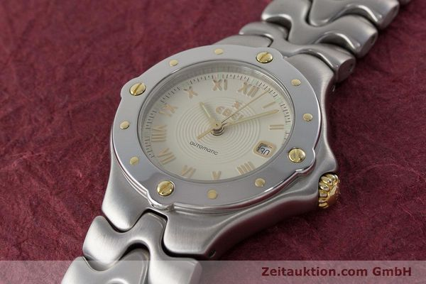 Used luxury watch Ebel Classic Wave steel automatic Kal. 172 ETA 2671 Ref. 6172621  | 160946 01