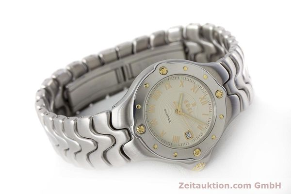 Used luxury watch Ebel Classic Wave steel automatic Kal. 172 ETA 2671 Ref. 6172621  | 160946 03