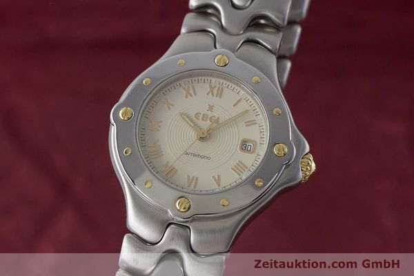 Used luxury watch Ebel Classic Wave steel automatic Kal. 172 ETA 2671 Ref. 6172621  | 160946 04
