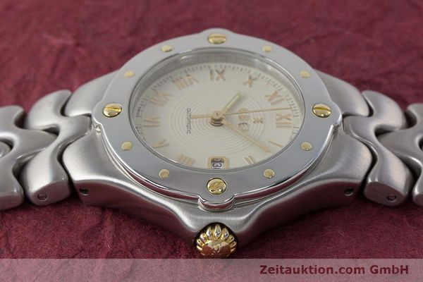 Used luxury watch Ebel Classic Wave steel automatic Kal. 172 ETA 2671 Ref. 6172621  | 160946 05