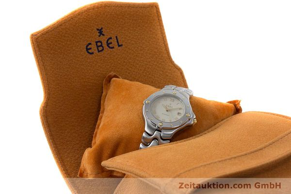 Used luxury watch Ebel Classic Wave steel automatic Kal. 172 ETA 2671 Ref. 6172621  | 160946 07