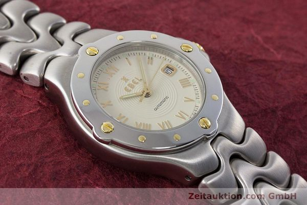Used luxury watch Ebel Classic Wave steel automatic Kal. 172 ETA 2671 Ref. 6172621  | 160946 16