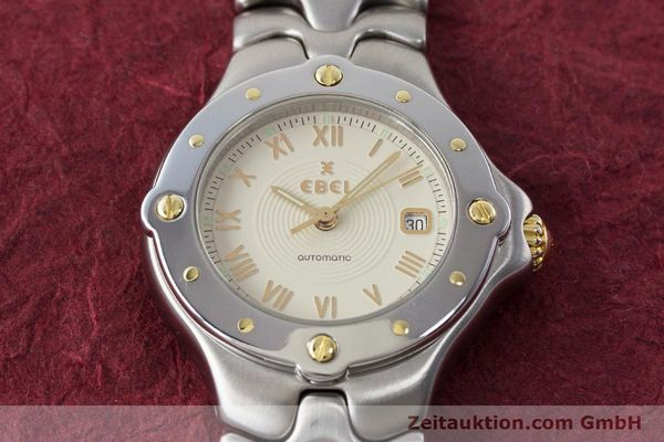 Used luxury watch Ebel Classic Wave steel automatic Kal. 172 ETA 2671 Ref. 6172621  | 160946 17