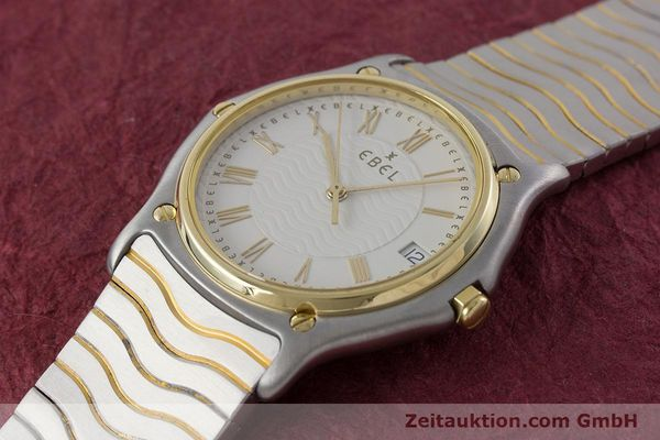 Used luxury watch Ebel Classic Wave steel / gold quartz Kal. 187-1 Ref. 1187141  | 160948 01