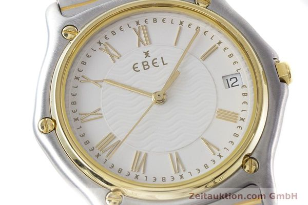 Used luxury watch Ebel Classic Wave steel / gold quartz Kal. 187-1 Ref. 1187141  | 160948 02