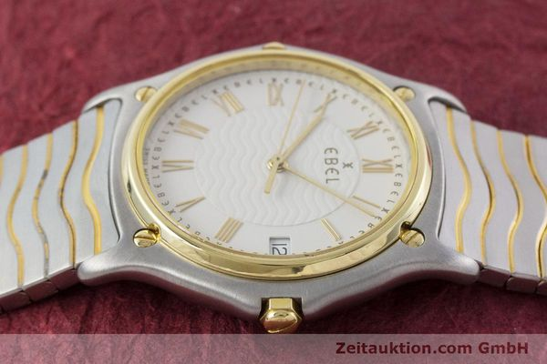 Used luxury watch Ebel Classic Wave steel / gold quartz Kal. 187-1 Ref. 1187141  | 160948 05
