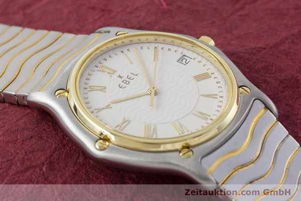Used luxury watch Ebel Classic Wave steel / gold quartz Kal. 187-1 Ref. 1187141  | 160948 12