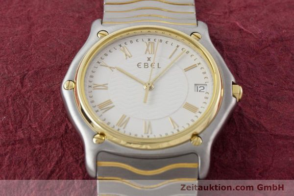 Used luxury watch Ebel Classic Wave steel / gold quartz Kal. 187-1 Ref. 1187141  | 160948 13