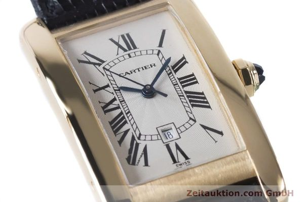 Used luxury watch Cartier Tank Américaine 18 ct gold automatic Kal. 077 ETA 2671 Ref. 1725  | 160949 02