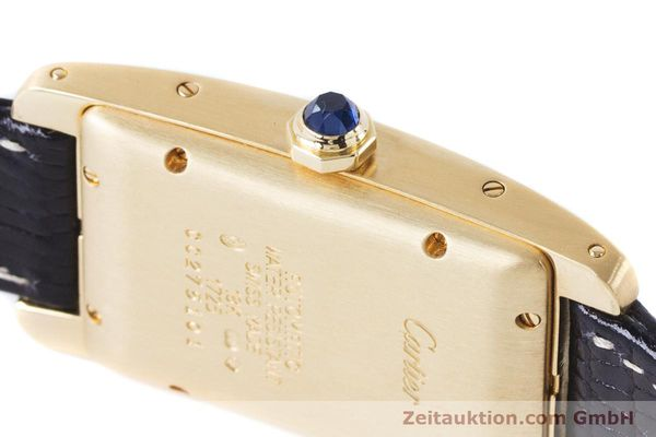 Used luxury watch Cartier Tank Américaine 18 ct gold automatic Kal. 077 ETA 2671 Ref. 1725  | 160949 08
