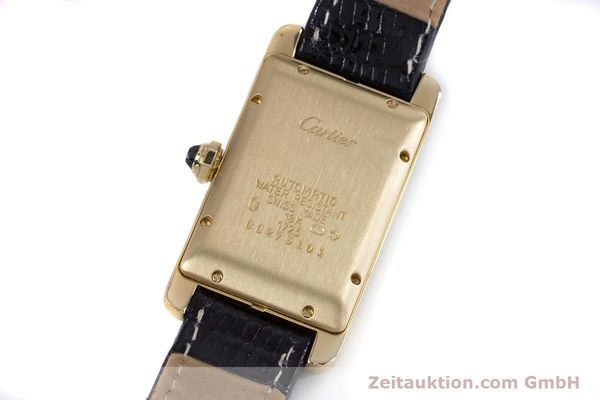 Used luxury watch Cartier Tank Américaine 18 ct gold automatic Kal. 077 ETA 2671 Ref. 1725  | 160949 09