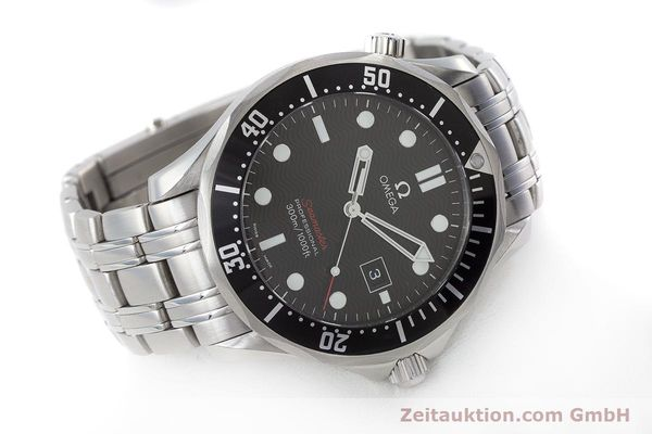 Used luxury watch Omega Seamaster steel quartz Kal. 1583  | 160952 03