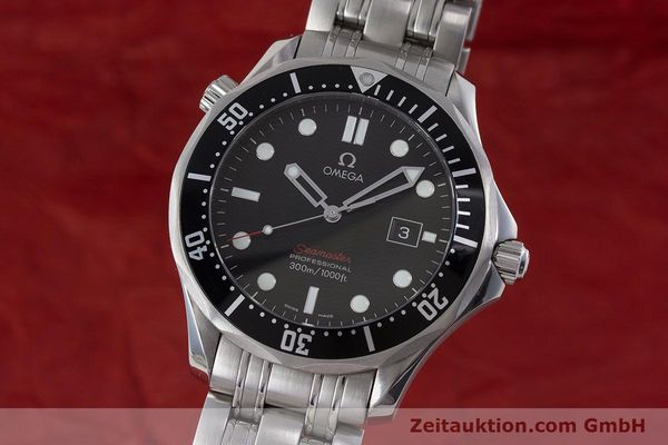 Used luxury watch Omega Seamaster steel quartz Kal. 1583  | 160952 04