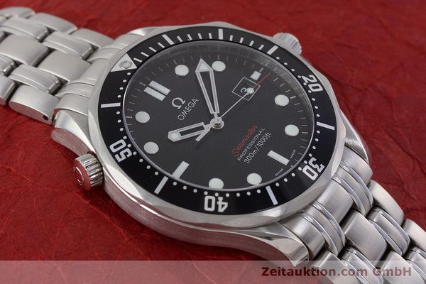 Used luxury watch Omega Seamaster steel quartz Kal. 1583  | 160952 15