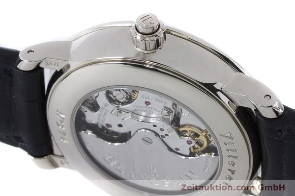 Used luxury watch Blancpain Villeret chronograph 18 ct white gold automatic Kal. M 185 Ref. 6185-1546-55  | 160954 08
