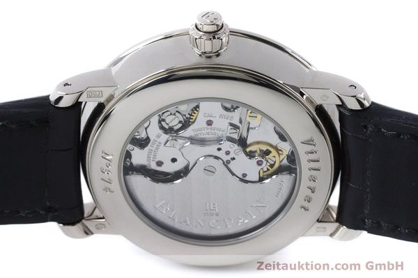 Used luxury watch Blancpain Villeret chronograph 18 ct white gold automatic Kal. M 185 Ref. 6185-1546-55  | 160954 10