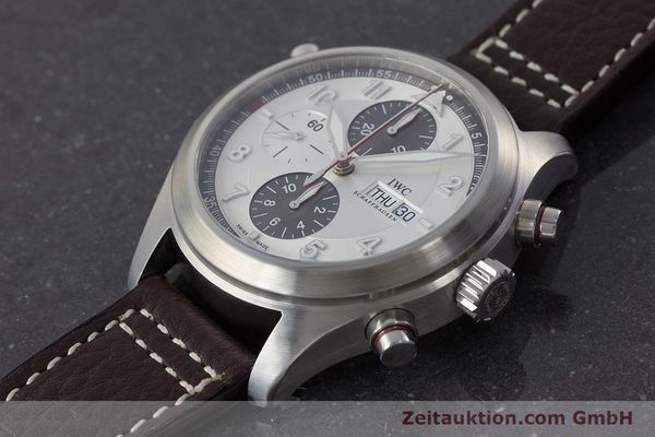 Used luxury watch IWC Fliegeruhr chronograph steel automatic Kal. 79230 Ref. 371806  | 160955 01