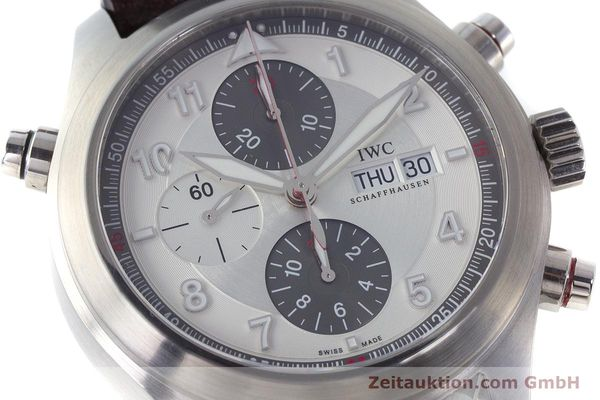 Used luxury watch IWC Fliegeruhr chronograph steel automatic Kal. 79230 Ref. 371806  | 160955 02