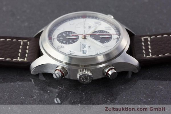 Used luxury watch IWC Fliegeruhr chronograph steel automatic Kal. 79230 Ref. 371806  | 160955 05