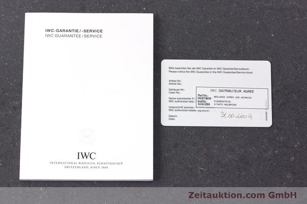 Used luxury watch IWC Fliegeruhr chronograph steel automatic Kal. 79230 Ref. 371806  | 160955 08