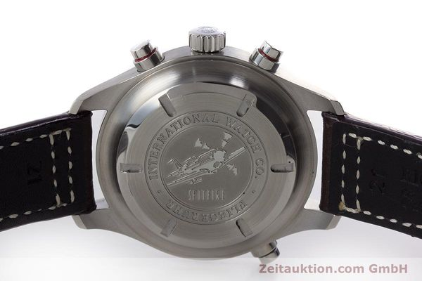 Used luxury watch IWC Fliegeruhr chronograph steel automatic Kal. 79230 Ref. 371806  | 160955 09