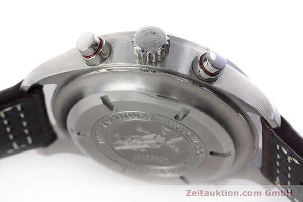 Used luxury watch IWC Fliegeruhr chronograph steel automatic Kal. 79230 Ref. 371806  | 160955 13