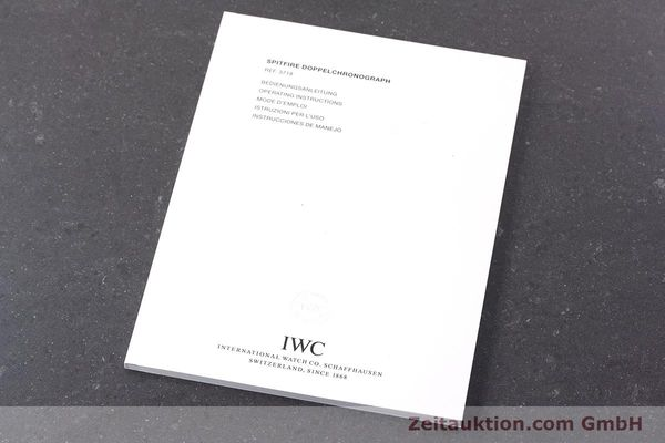 Used luxury watch IWC Fliegeruhr chronograph steel automatic Kal. 79230 Ref. 371806  | 160955 14