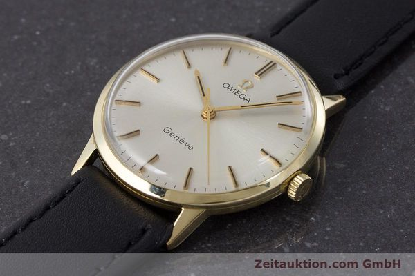 Used luxury watch Omega * 14 ct yellow gold manual winding Kal. 501 Ref. 131.041  | 160956 01