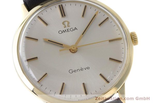 Used luxury watch Omega * 14 ct yellow gold manual winding Kal. 501 Ref. 131.041  | 160956 02