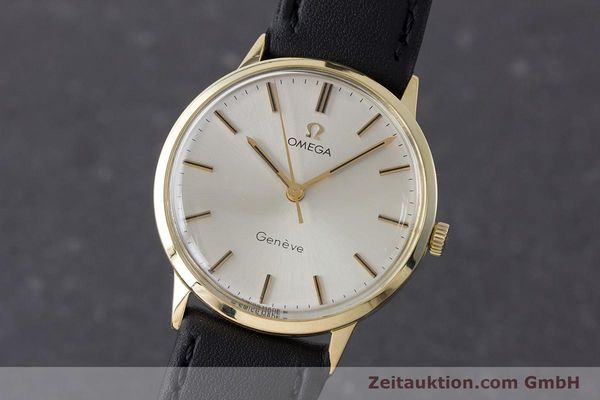 Used luxury watch Omega * 14 ct yellow gold manual winding Kal. 501 Ref. 131.041  | 160956 04