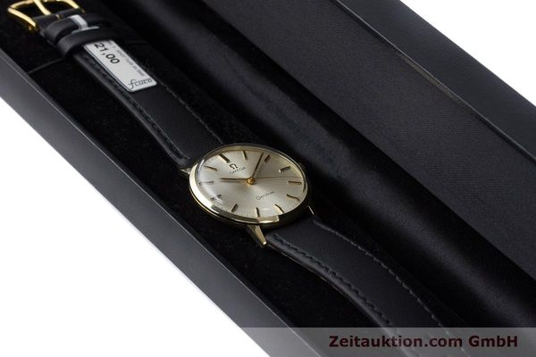 Used luxury watch Omega * 14 ct yellow gold manual winding Kal. 501 Ref. 131.041  | 160956 07