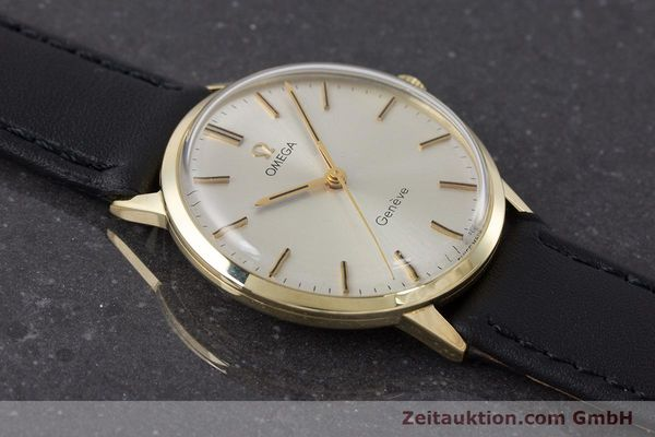 Used luxury watch Omega * 14 ct yellow gold manual winding Kal. 501 Ref. 131.041  | 160956 13