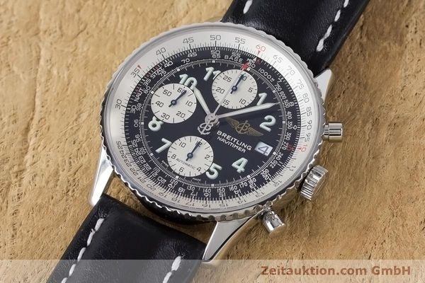 Used luxury watch Breitling Navitimer chronograph steel automatic Kal. B13 ETA 7750 Ref. A13322  | 160957 01